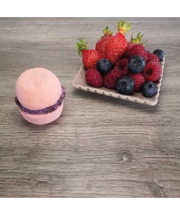 Macarons de Bain fruits des bois