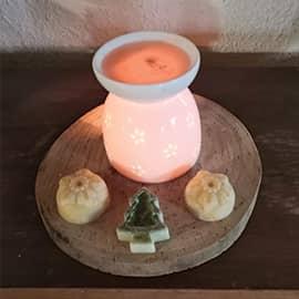 bougies parfum es artisanales la roulotte savon. Black Bedroom Furniture Sets. Home Design Ideas